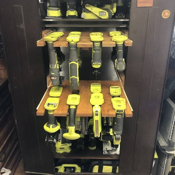 Photo: Ryobi Vending machine
