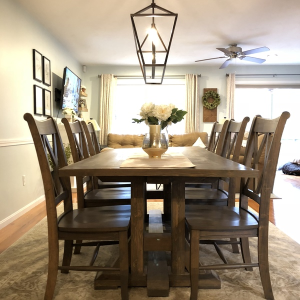 Photo: Farmhouse table under $130