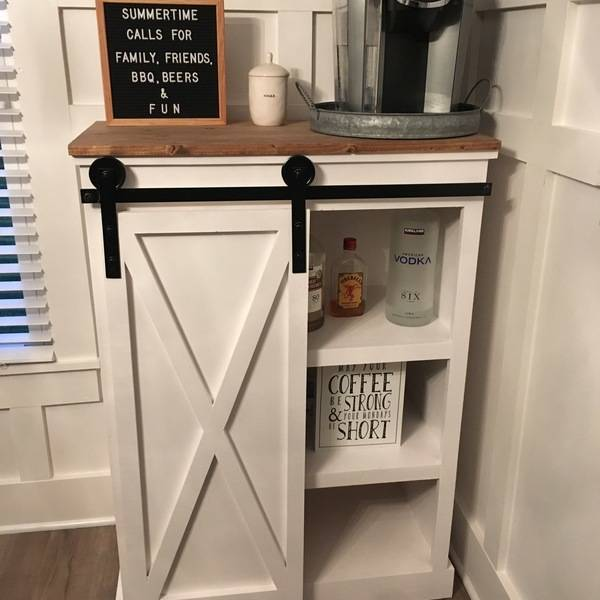 Barn Door Coffee Bar Ryobi Nation Projects