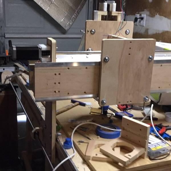 Photo: GATTON CNC Router build