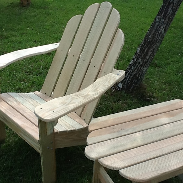 Photo: ADIRONDACK CHAIR