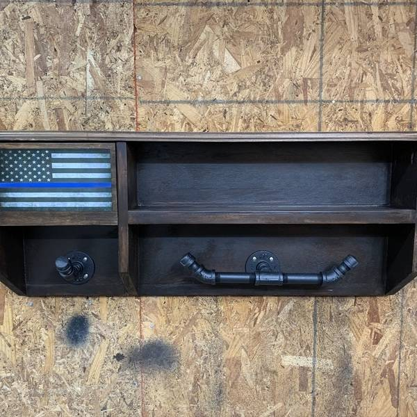 Photo: Police Duty Gear Shelf
