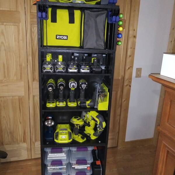Photo: Ryobi Winter/Summer Storage Center