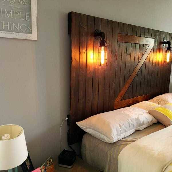 Photo: Custom Headboard