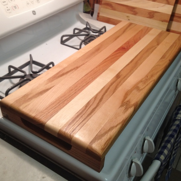 Photo: Reversible cutting board and serving tray