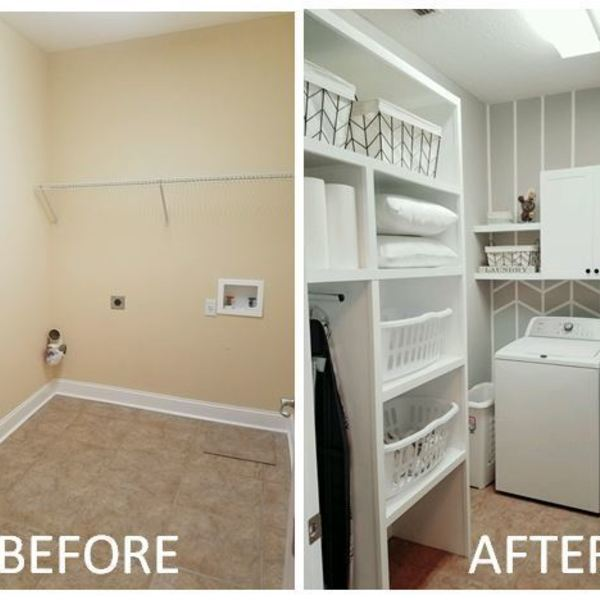 Photo: Laundry Room Redo