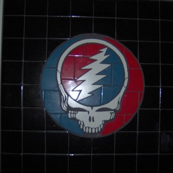Grateful Dead Steal Your Face Ceramic Tile Mosaic Ryobi