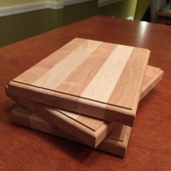 Photo: Striped Cutting Board