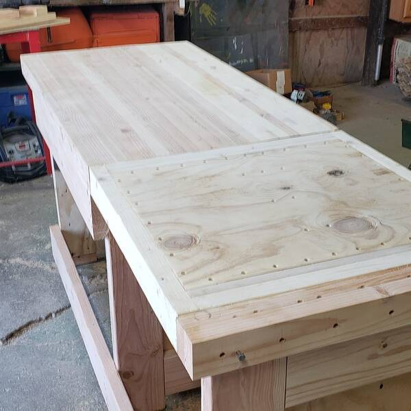 Photo: Flip Top Cabinet Makers Workbench
