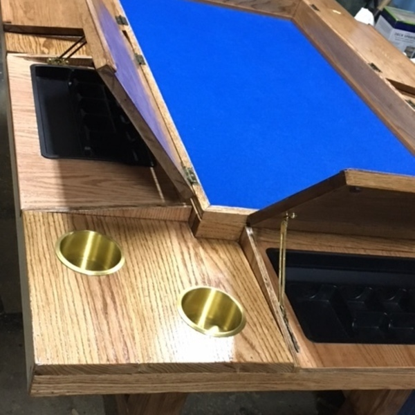 Photo: Simplified Gaming Table