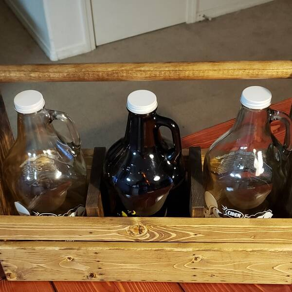 Photo: Growler holders