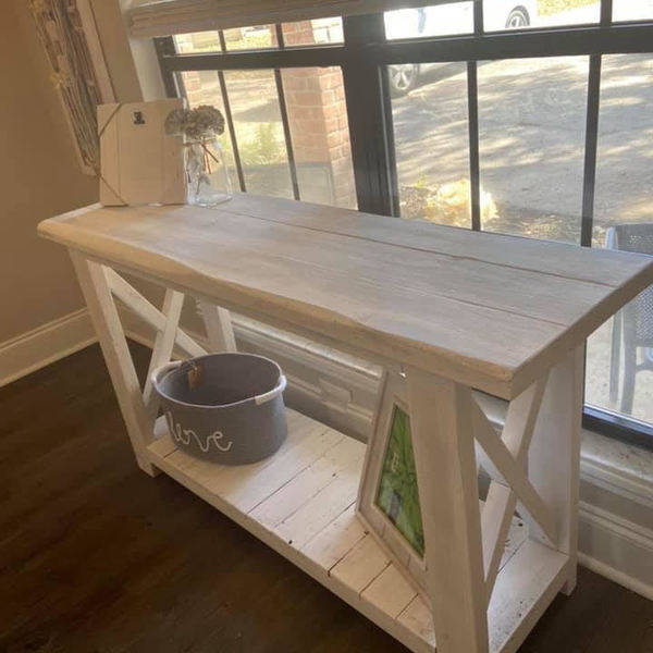 Photo: Farmhouse Entrance Table