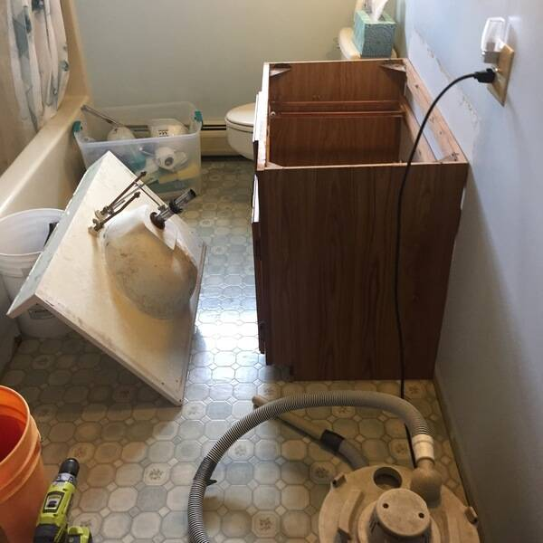 Photo: Remodel Bathroom