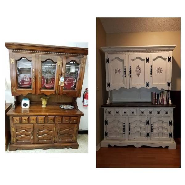 Photo: Kitchen Hutch Makeover