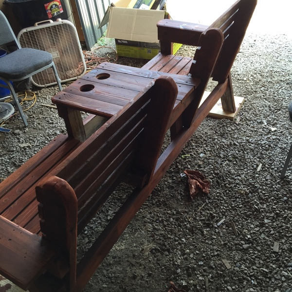 Groovy Double Chair Bench Ryobi Nation Projects Caraccident5 Cool Chair Designs And Ideas Caraccident5Info