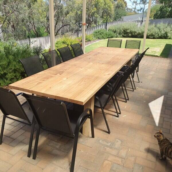 Photo: Outdoor Dining Table for 12