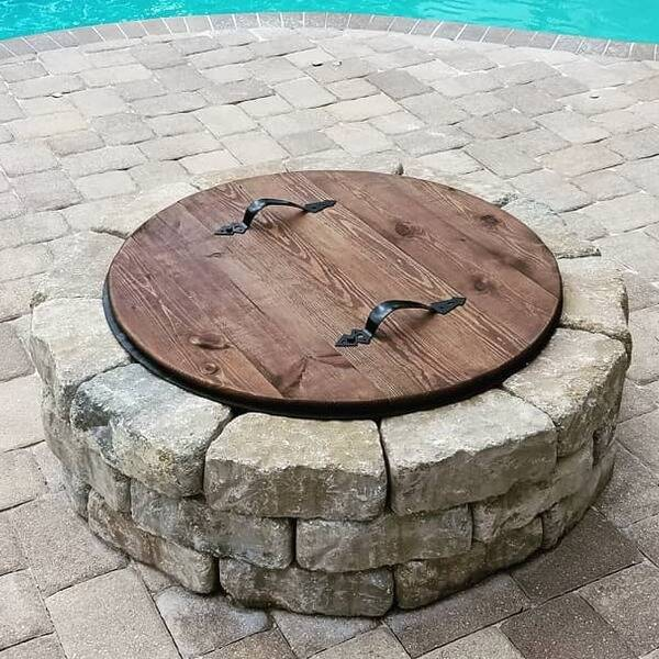 Photo: Fire pit cover