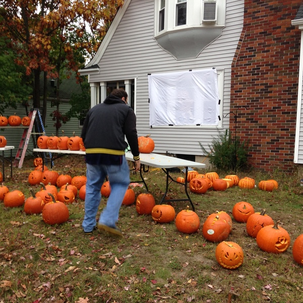 Photo: Halloween Pumpkin Spooktacular #pumpkinsonpontiac