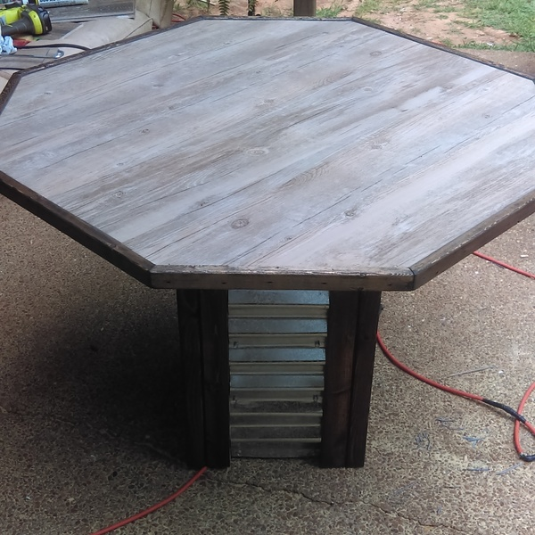 Photo: Patio table