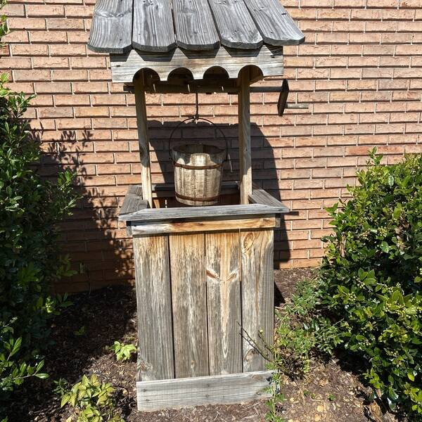 Photo: Wishing well