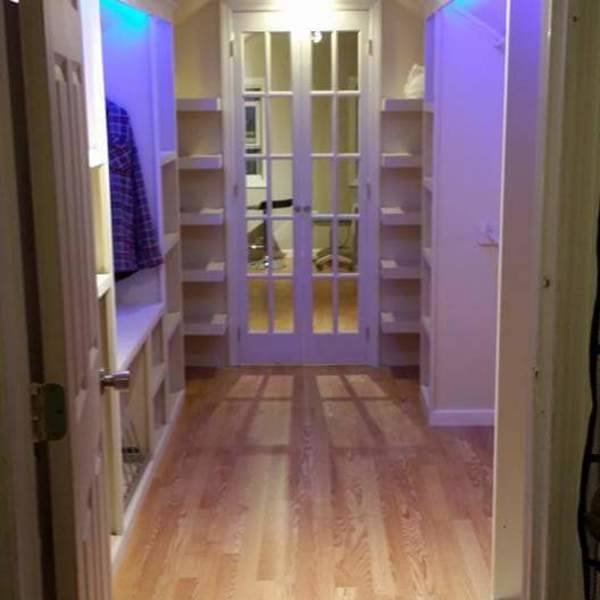 Photo: Attic additional walk-in closet, French door, master bedroom