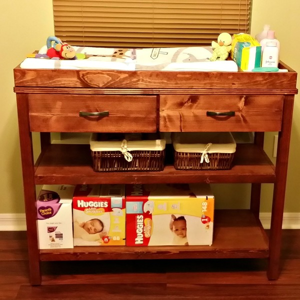 Photo: Ultimate Changing Table by Ana White