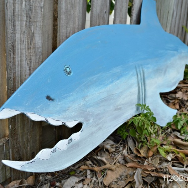 Photo: Cut Out Wood Shark