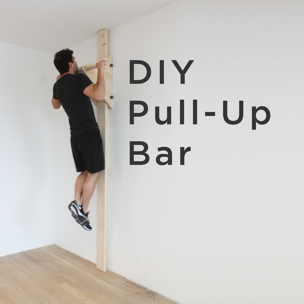 Photo: DIY Pull Up Bar