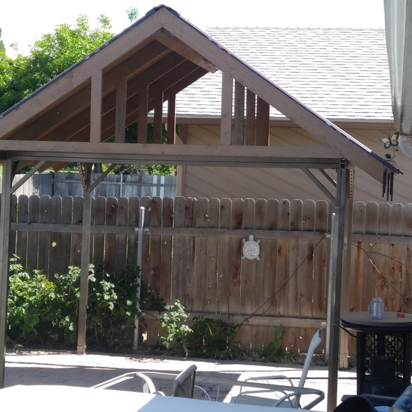 Photo: Industrial grade gazebo