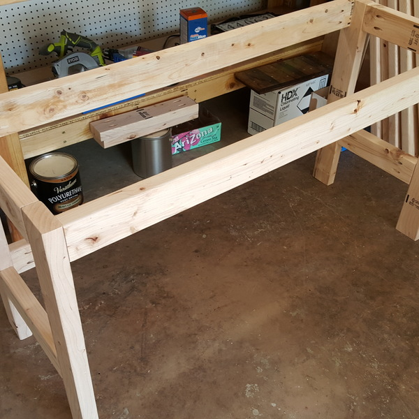 2x4 Computer Desk Ryobi Nation Projects
