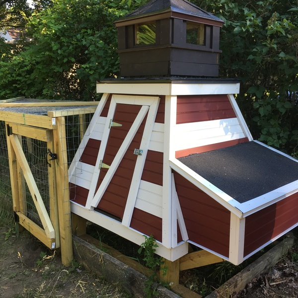 Photo: Lighthouse Chicken Coop