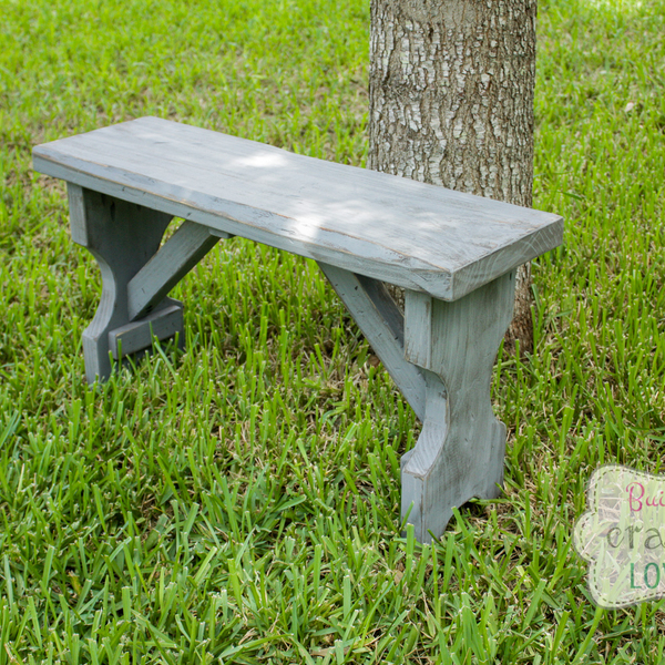 Photo: Small DIY Bench