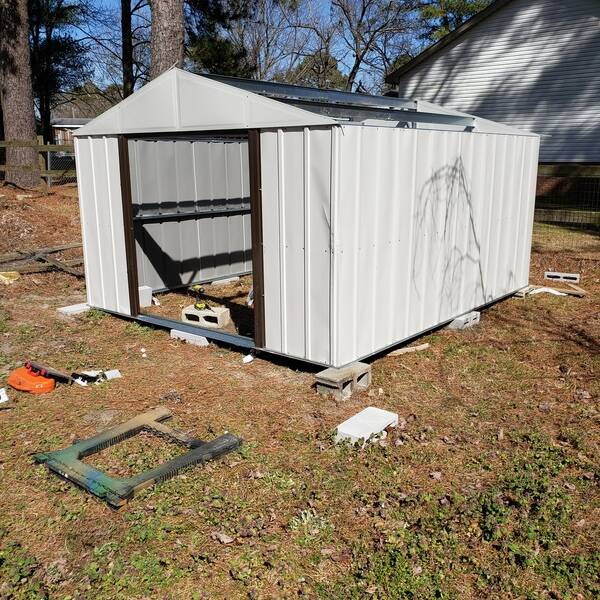 Photo: Building a shop/storage shed