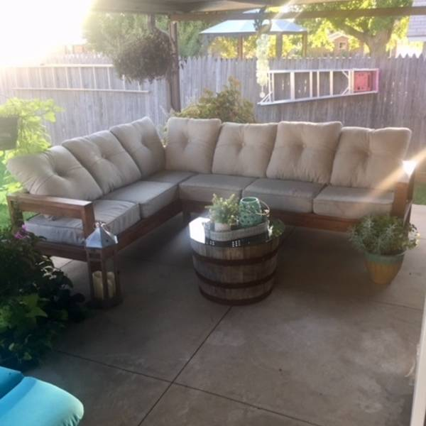 Photo: Outdoor Sectional
