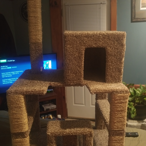 Photo: Cat tower