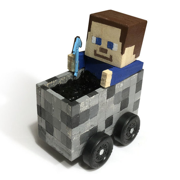 Minecraft Pinewood Derby Car Ryobi Nation Projects