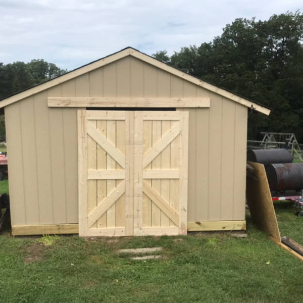 Used Mobile Home Doors Exterior: Sliding Barn Doors For Shed