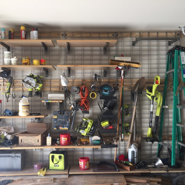 Photo: Garage Organization