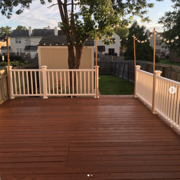 Photo: Deck makeover