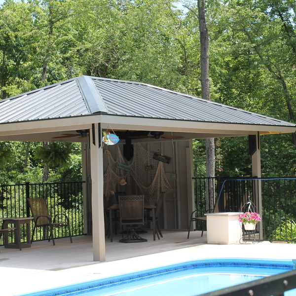 Photo: Pool Pavilion