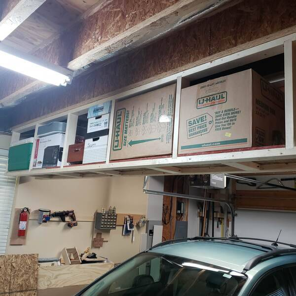 Photo: Overhead Garage Storage
