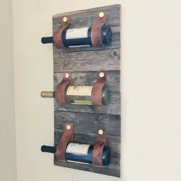 Photo: DIY FARMHOUSE WINE RACK