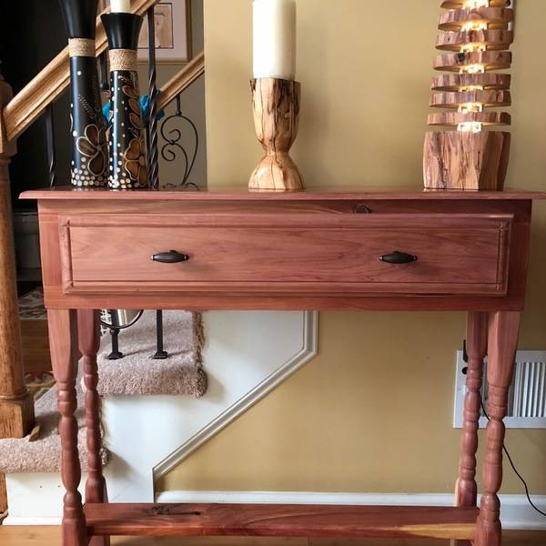 Photo: Cedar Console Table