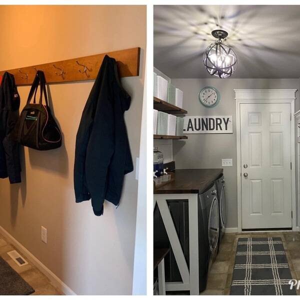 Photo: Completely customized Mudroom makeover