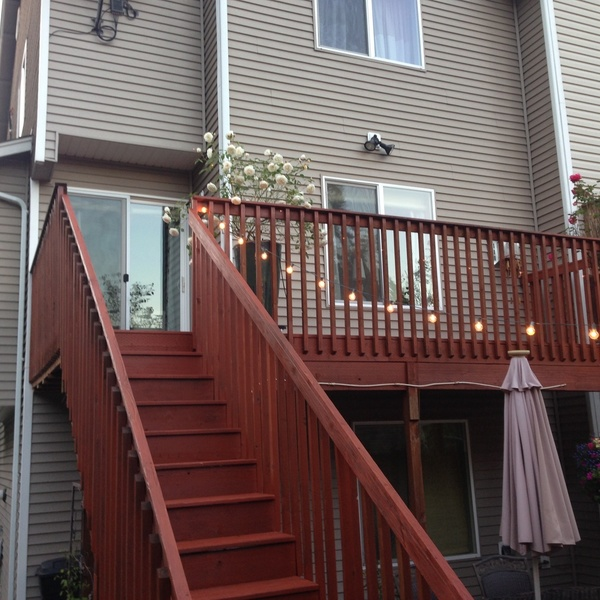 Photo: Deck Refinish/stain