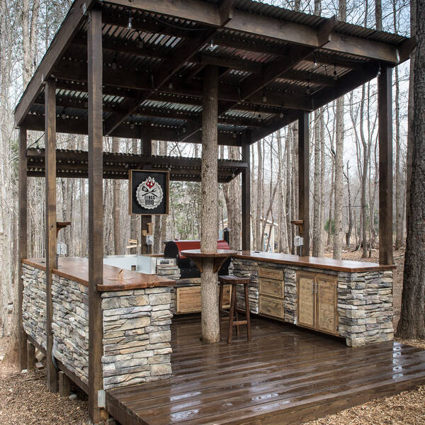 Photo: Outdoor Kitchen