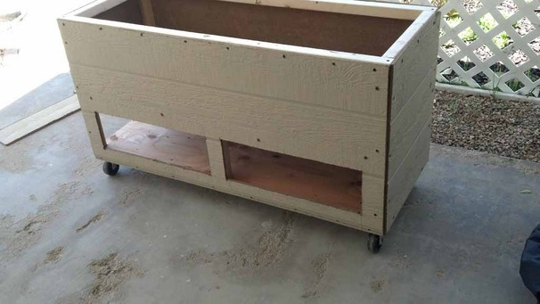 mothers day planter w/ storage