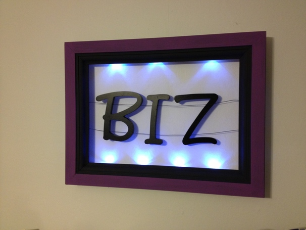LED Name Sign