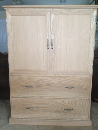 "Solid Oak ""Tall Dresser"" with a secret..."