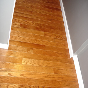 Alot of hardwood flooring